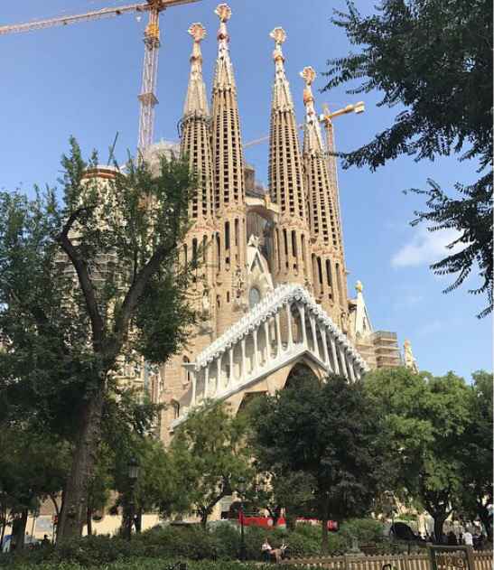 2017 Travel Challenge: Barcelona in August