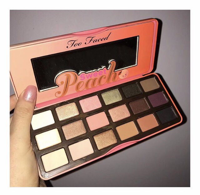 Review: Too Faced Sweet Peach Eyeshadow Palette