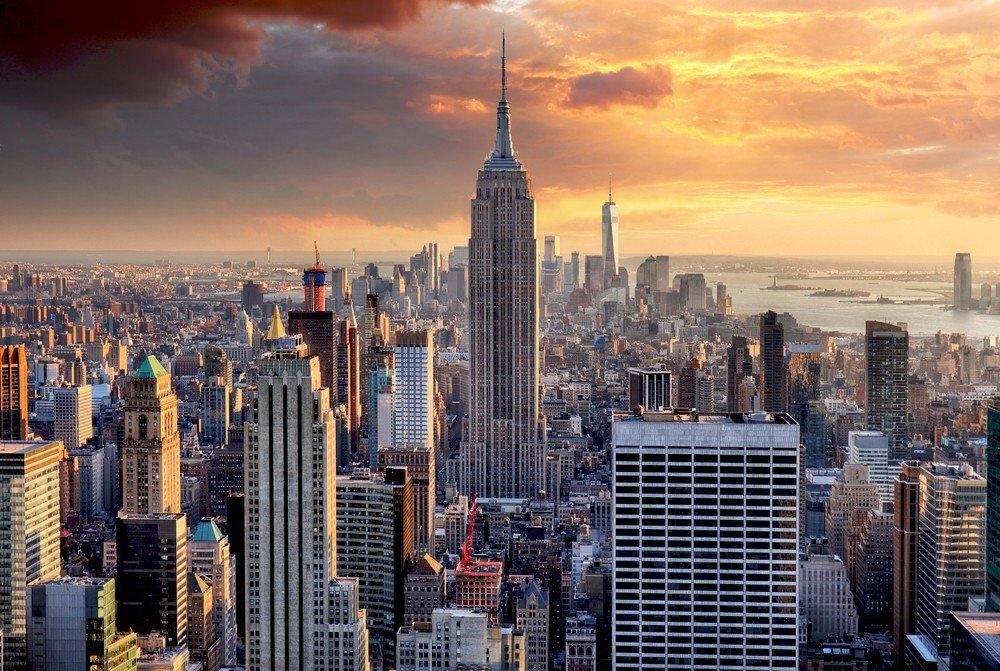 Empire State, New York, skyline
