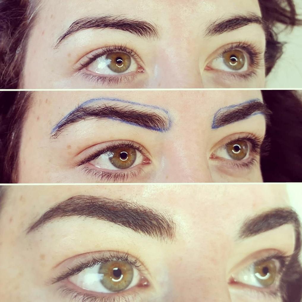 phi brows, microblading