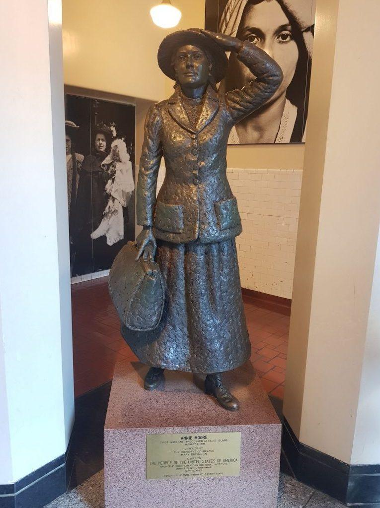 Annie Moore, Ellis Island, Irish History