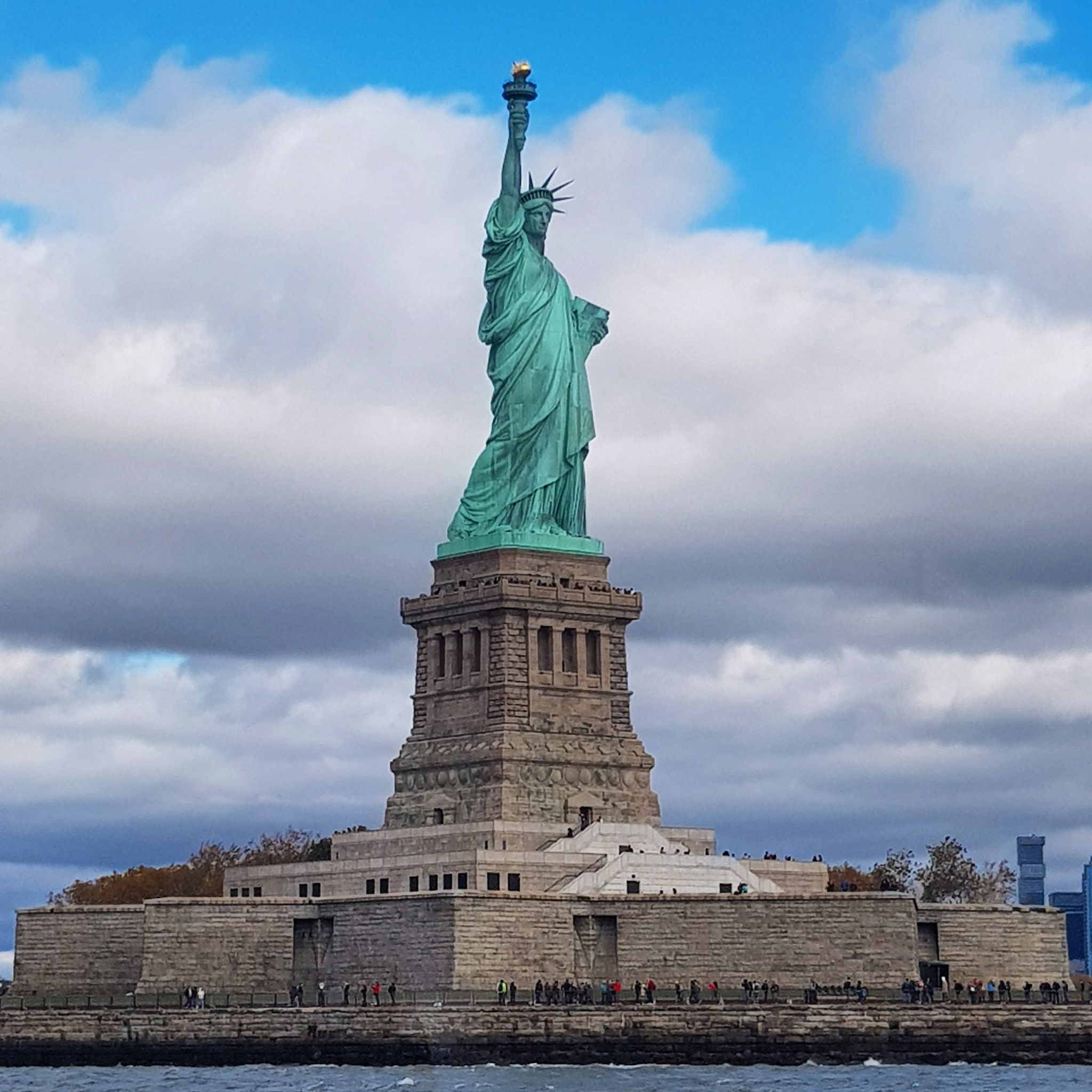 LADY LIBERTY, THE STATUE OF LIBERTY, LIBERTY ISLAND, MANHATTAN, New York, New York CITY